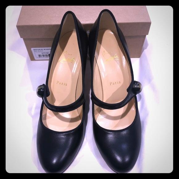 Christian Louboutin Shoes - Christian Louboutin Booton 85 Mary Jane Pumps 40.5